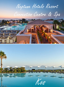 07.10. - 14.10.2019 / Kos – Neptune Hotels Resort Convention Center & Spa